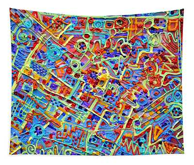 Electronics For Cats Tapestry