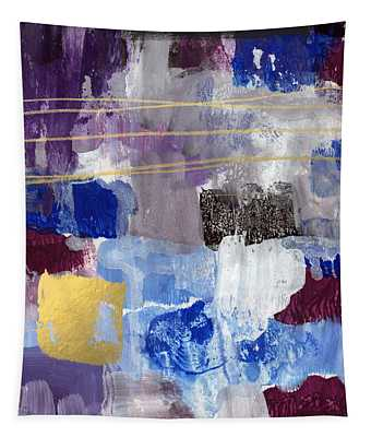 Elemental- Abstract Expressionist Painting Tapestry