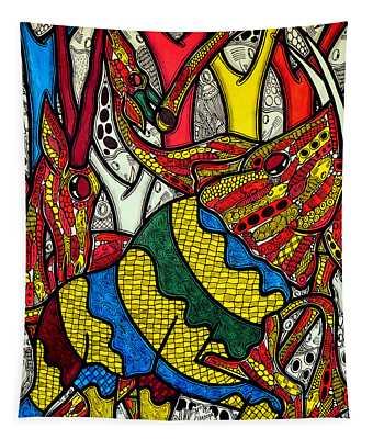 Elephant World Tapestry
