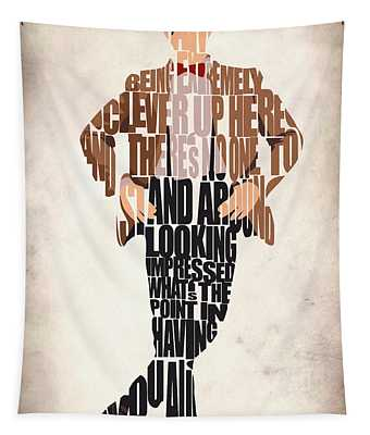 Eleventh Doctor - Doctor Who Tapestry