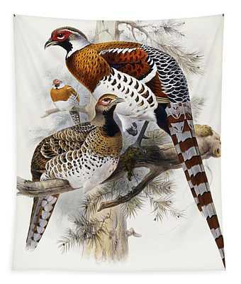 Elliot's Pheasant Tapestry