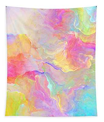 Eloquence - Abstract Art Tapestry