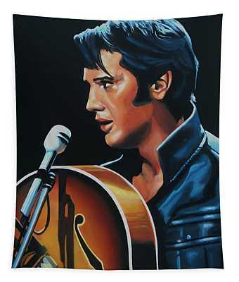 Elvis Presley 3 Painting Tapestry