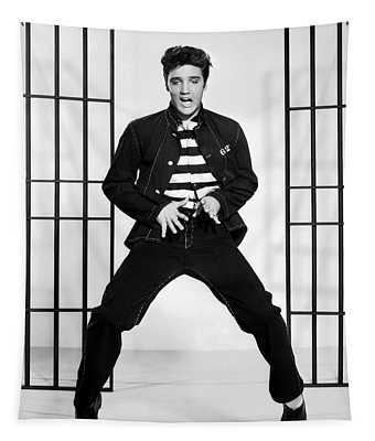 Elvis Presley In Jailhouse Rock 1957 Tapestry
