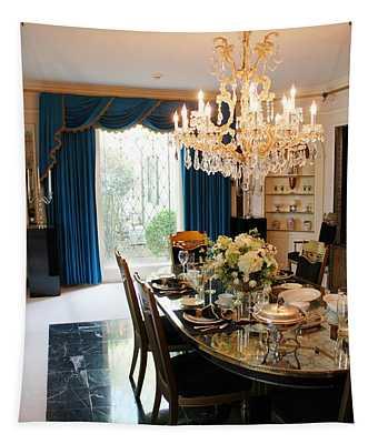 Elvis Presley's Dining Room Tapestry