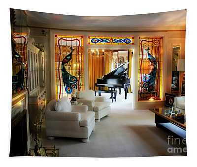 Elvis Presley's Living Room Tapestry