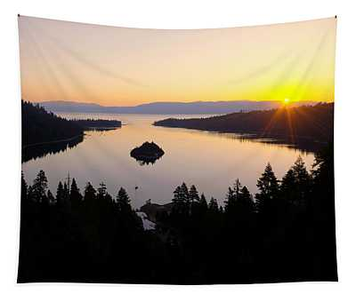 Emerald Dawn Tapestry