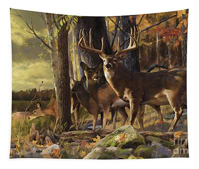 Eminence At The Forest Edge Tapestry