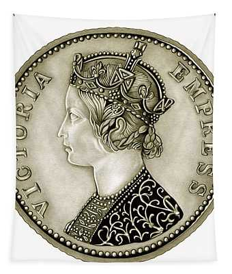 Silver Empress Victoria Tapestry