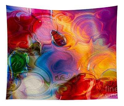 Enchanting Flames Tapestry
