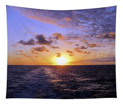 Hawaiian End Of Day Tapestry