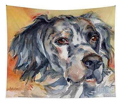 English Setter Portrait Tapestry
