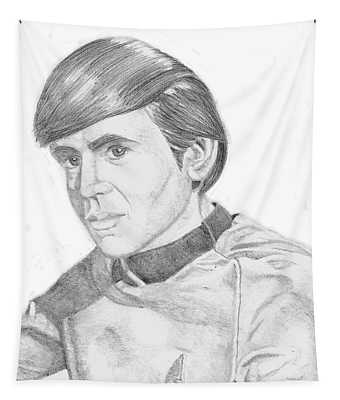 Ensign Pavel Chekov Tapestry