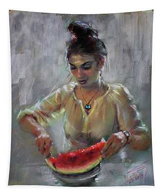 Erbora With Watermelon Tapestry