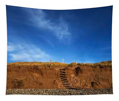 Eroded Low Cliffs, Tramore, County Tapestry