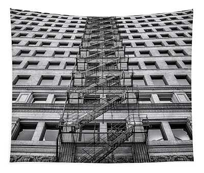 Fire Escape Wall Tapestries