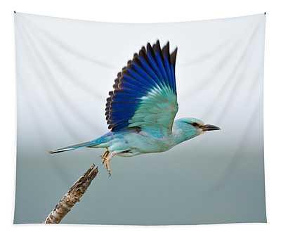 Eurasian Roller Tapestry