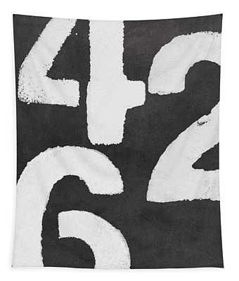 Even Numbers Tapestry