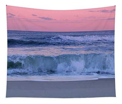Evening Waves - Jersey Shore Tapestry