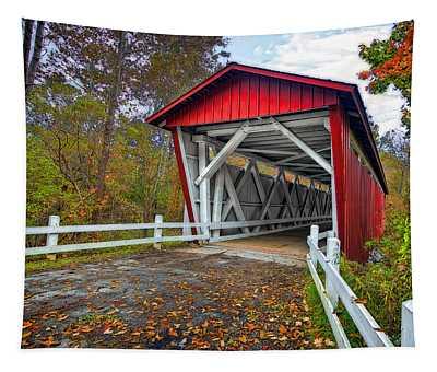 Everett Rd. Bridge Tapestry