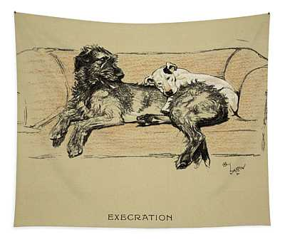 Execration, 1930, 1st Edition Tapestry