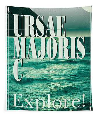 Exoplanet 03 Travel Poster Ursae Majoris Tapestry