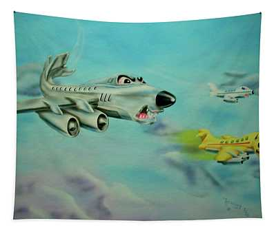 Extreme Airline Mergers Tapestry