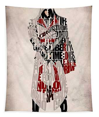 Ezio - Assassin's Creed Brotherhood Tapestry