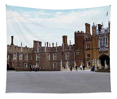 Facade Of A Building, Hampton Court Tapestry