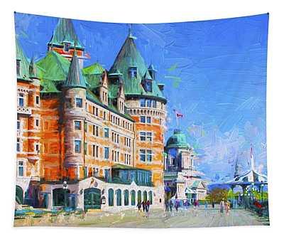 Fairmont Le Chateau Frontenac Series 02 Tapestry