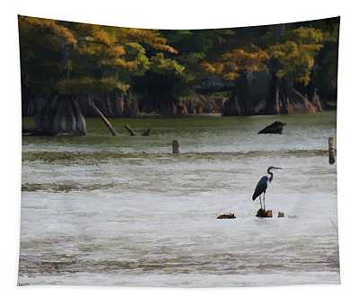 Fall At Reelfoot Lake Tapestry