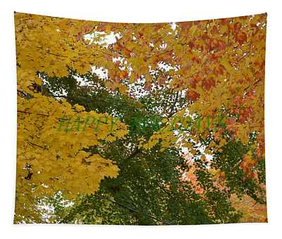 Fall Canopy Tapestry