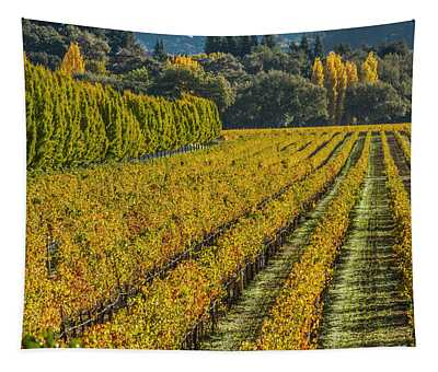 Fall Color Napa Style Tapestry