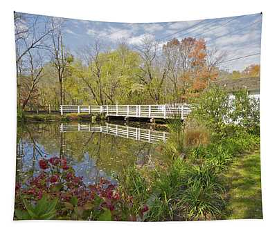 Fall Colors On The Canal Tapestry