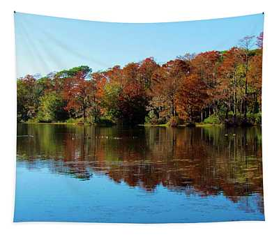 Fall In The Air Tapestry