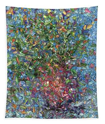 Falling Flowers Tapestry