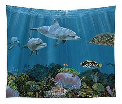 Fantasy Reef Re0020 Tapestry