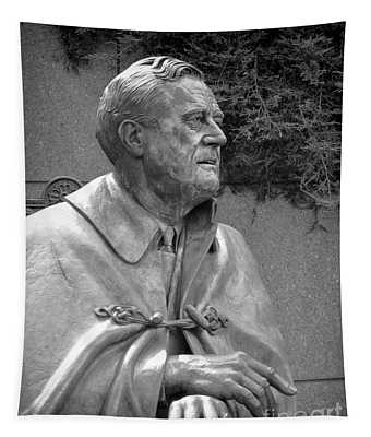 Fdr Statue At Fdr Memorial Tapestry