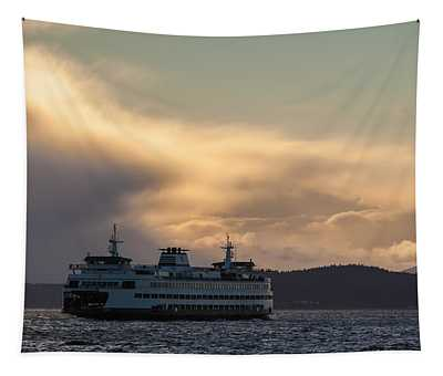 Ferry Crossing Tapestry