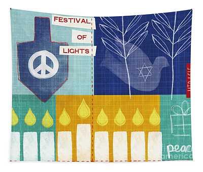 Festival Of Lights Tapestry