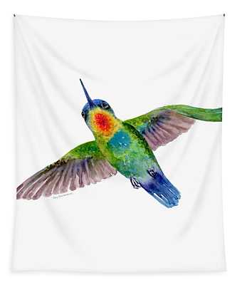Fiery-throated Hummingbird Tapestry