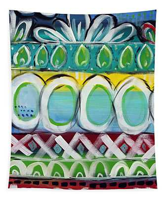 Fiesta - Colorful Painting Tapestry