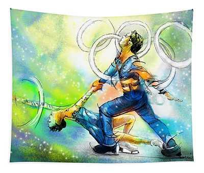 Figure Skating 01 Tapestry