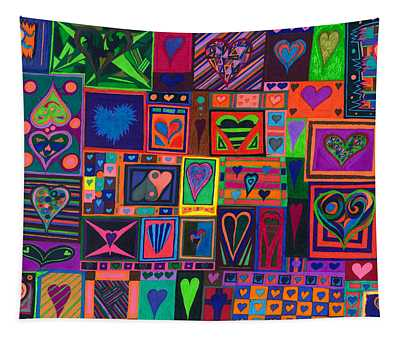 Find U'r Love Found Tapestry