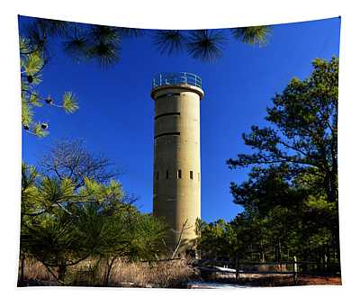 Fct7 Fire Control Tower #7 - Observation Tower Tapestry