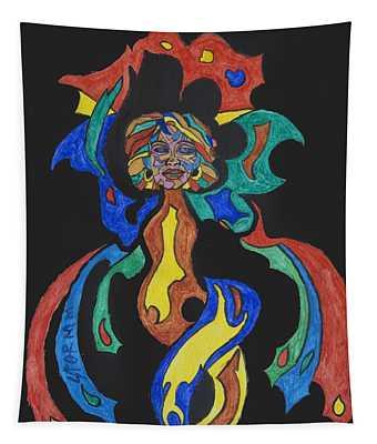 Fire Goddess Tapestry