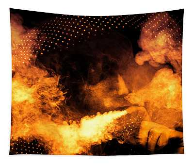 Fire Walk With Me Tapestry