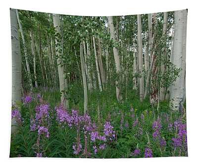 Fireweed And Aspen Tapestry