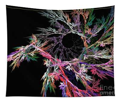 First Flower - Abstract Art Tapestry