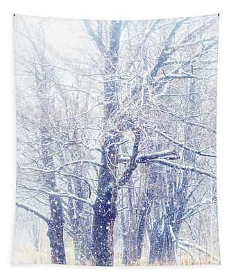 First Snow. Dreamy Wonderland Tapestry